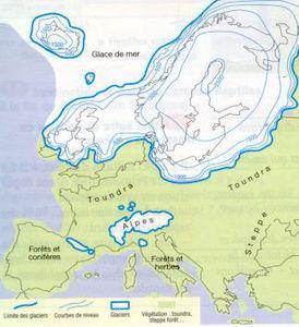 Atala Glaciation landscape Europe