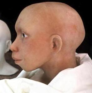 Atala Neanderthal child representation
