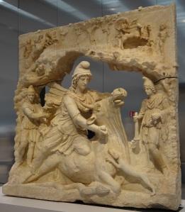 Mithra sacrifiant le taureau